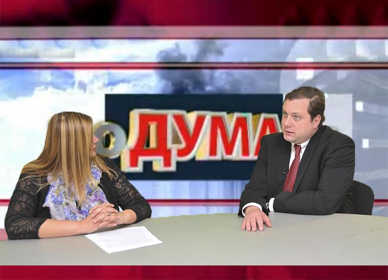 Губернатор Алексей Островский в программе «Подумаем»