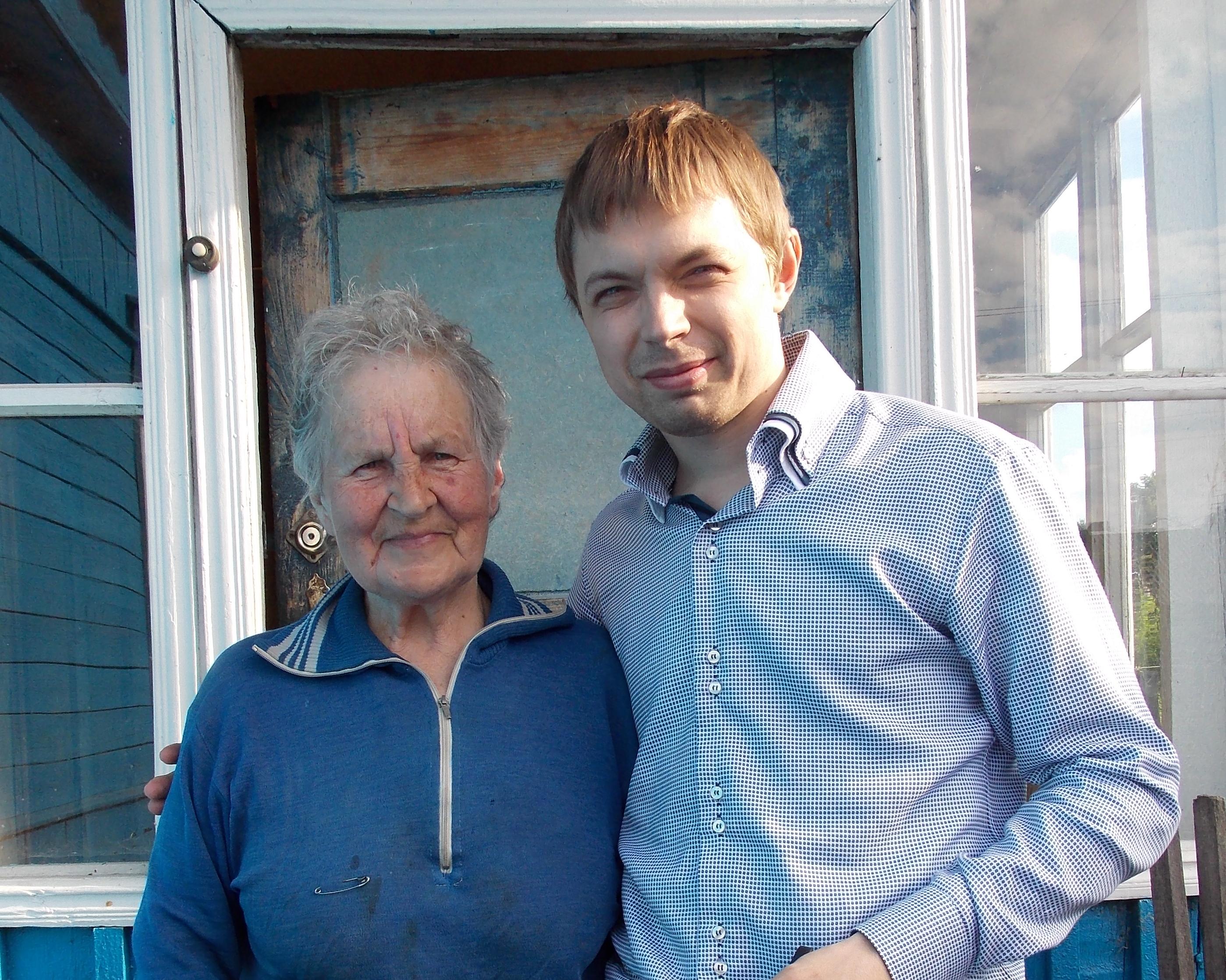 Анна Дмитриевна Корнеенкова и Андрей Иванов