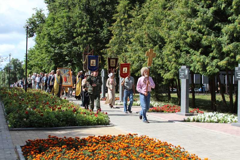 Крестный ход из Севастополя в Смоленск