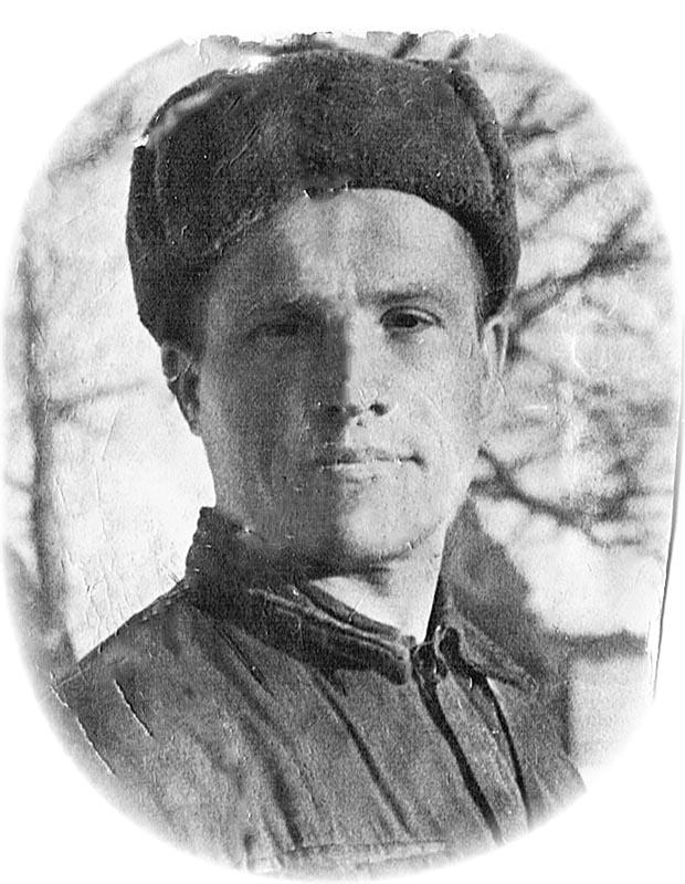 Николай Явнов. Фото 1942 г.