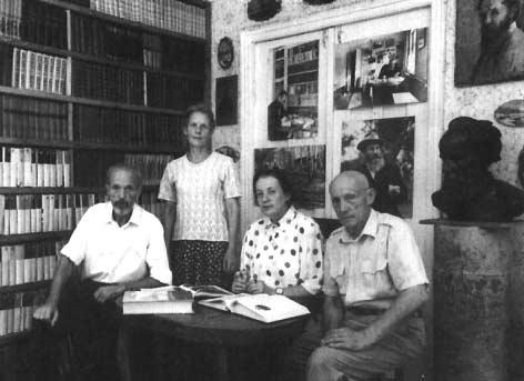 Дети Николая Ивановича Ладыгина (слева направо): Алексей, Татьяна, Елена, Борис. Тамбов, 2001 год