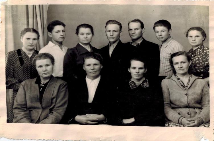 Фото 1954 года