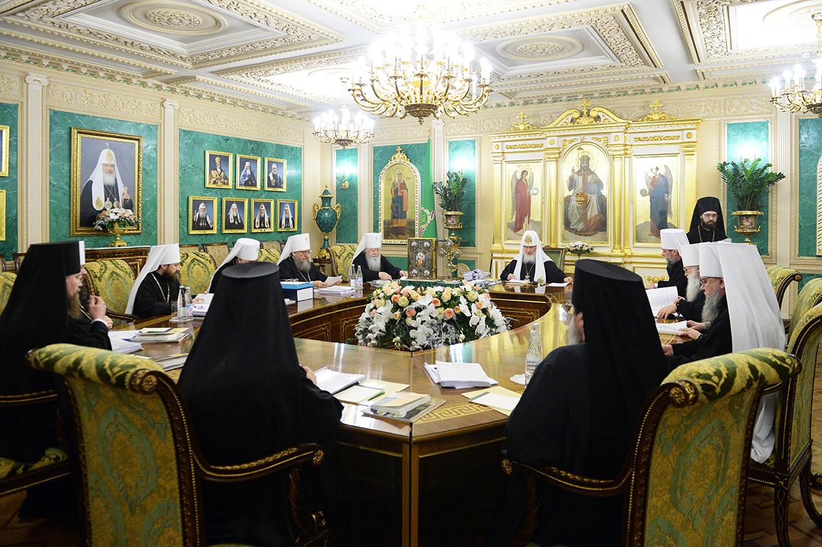 На заседании Священного Синода 27 декабря 2016 г.
