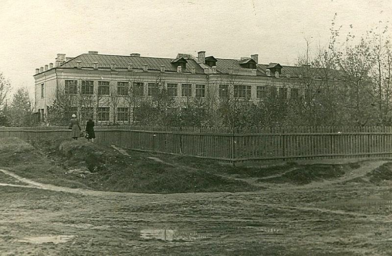 Школа № 3. 1953 год. Фото из архива Е.С.Прохоровой