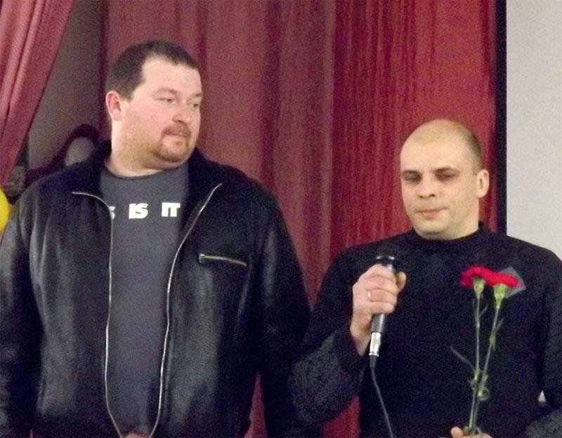 Вячеслав Михайлов и Руслан Захарчук