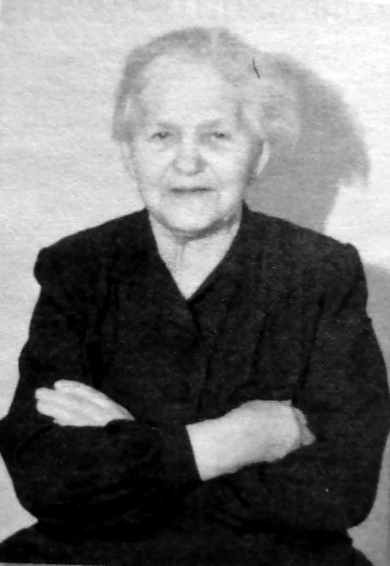 Бабушка Клавдия Петровна Сырейщикова