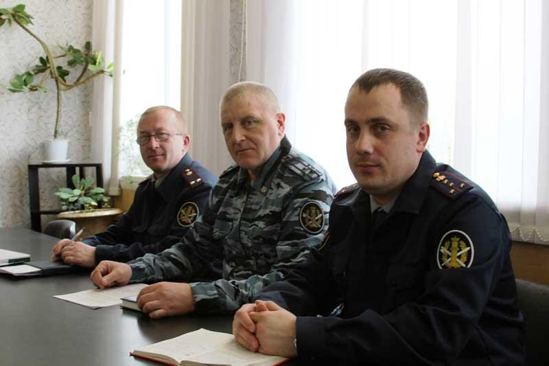 Слева направо: В.А. Копач, А.В. Агеев, С.Н. Фёдоров