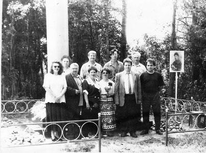 На открытии памятника Н.Ф. фон Мекк