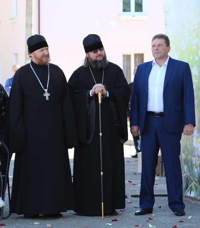 Протоиерей Михаил Гольцман, епископ Мелетий и В.В. Ильин