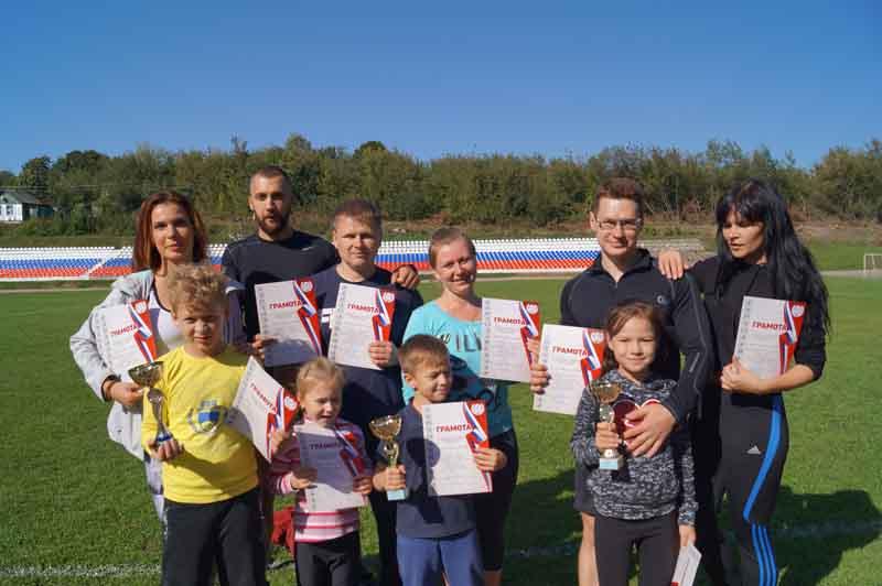 Спортивные семьи Якушевых, Новиковых, Гайдиных