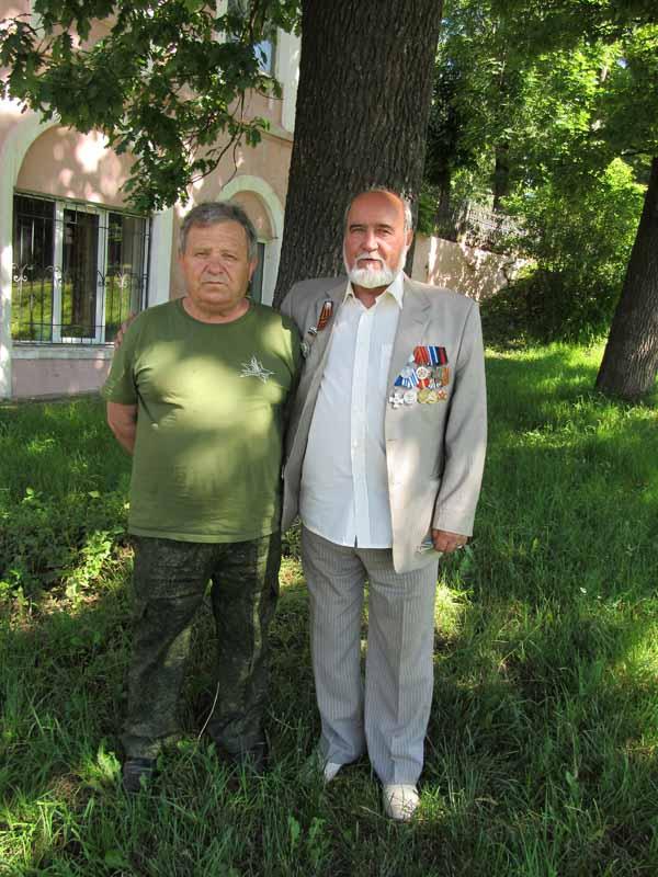 Вячеслав Никитин (слева) и автор очерка