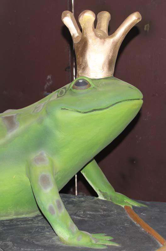 Царевна-лягушка займёт место своей предшественницы, пропавшей в 90-е гг.
