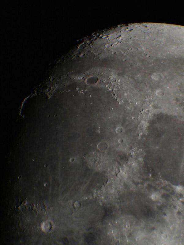 Поверхность Луны. Фото Павла Дымникова