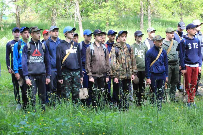 Участники военных сборов