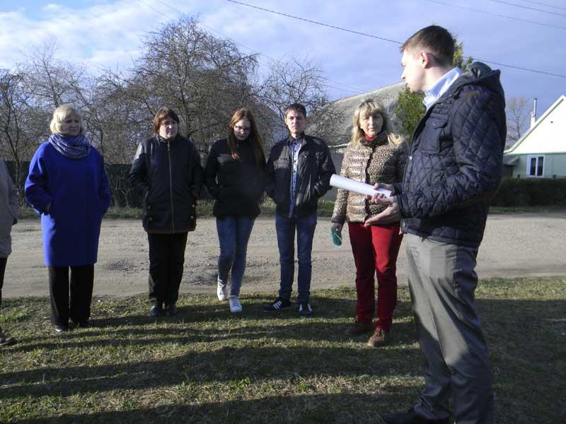 Встреча  с жителями ул. Шевченко по вопросу  организации остановки