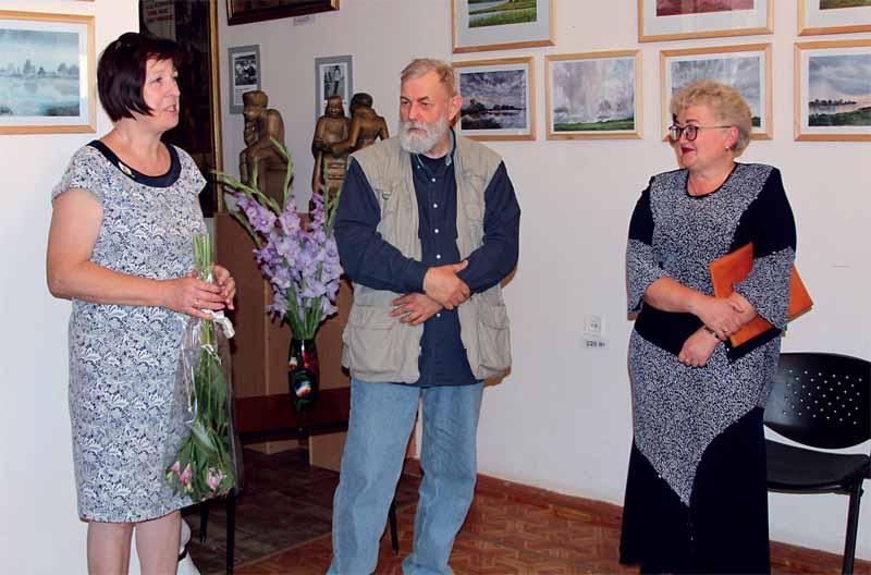Слева направо: Светлана Дедкова, Виктор Климов и Елена Хохлова