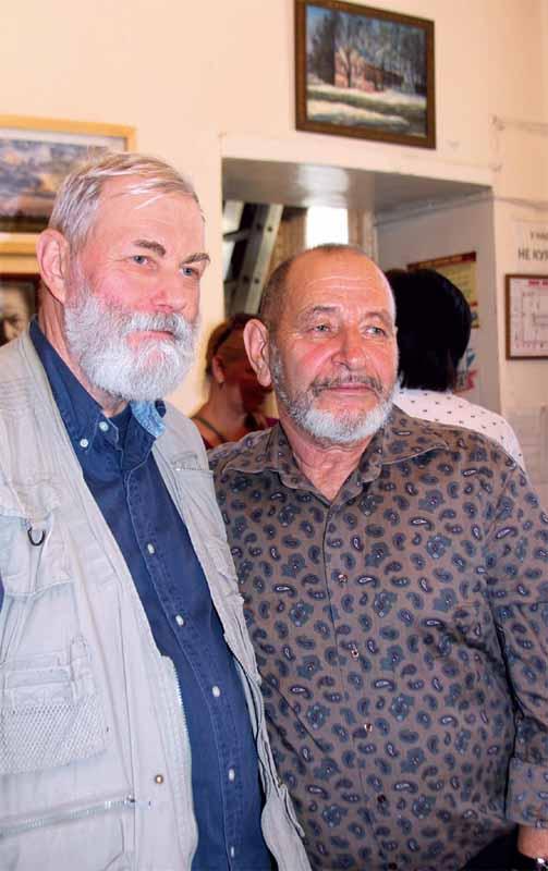 Виктор Климов и Михаил Сотников