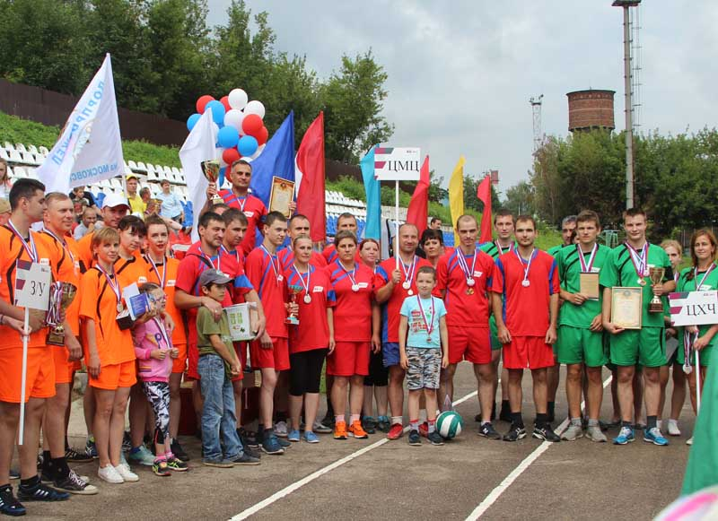 Команды-призёры