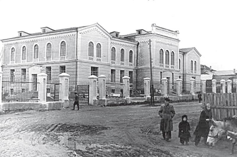 Рославль. Здание мужской прогимназии