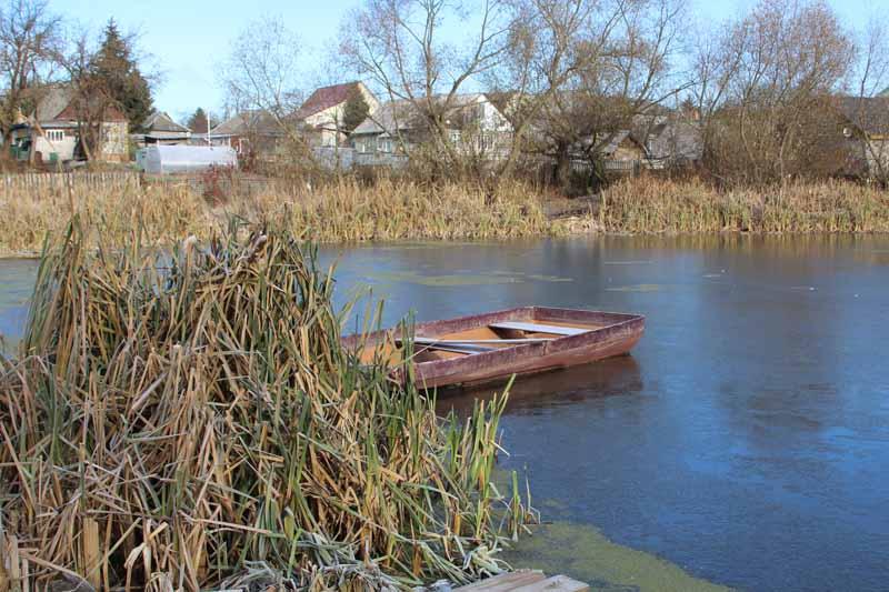 Красинское озеро. Фото 2014 года