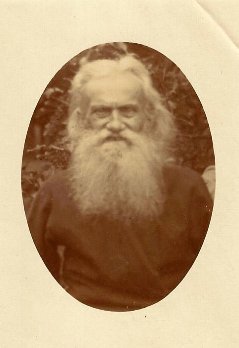 Алексей Барсов в старости